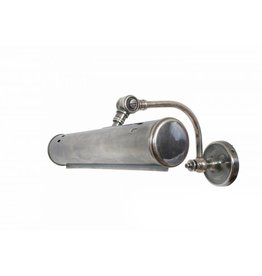 Industriële verlichting Wandlamp Matisse Antiek Zilver