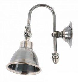 Industriële verlichting Wandlamp Pasco Antiek Zilver