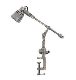 Industriële verlichting Tafellamp Spot Orlando Antiek Zilver