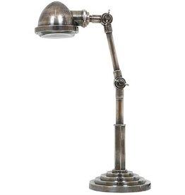 Industriële verlichting Tafellamp Nano Antiek Zilver