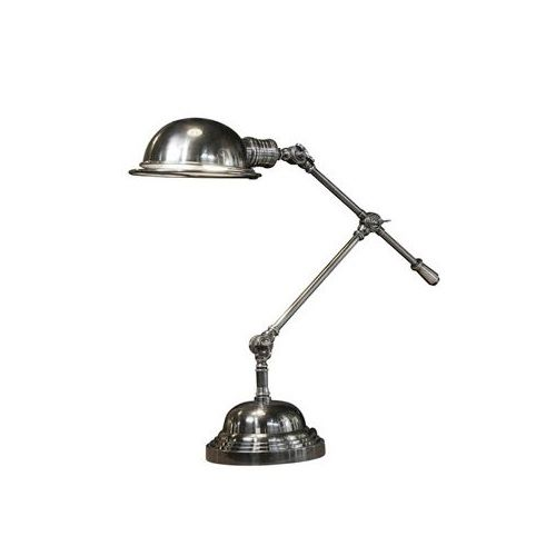 Industriële verlichting IndustriÃ«le tafellamp Sidney Antiek Zilver