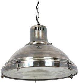 Industriële verlichting Hanglamp Agra Antiek Zilver