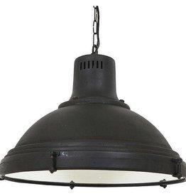 Industriële verlichting Hanglamp Agra Antiek Mat Zwart