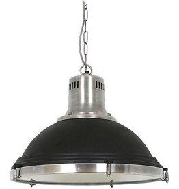 Industriële verlichting Hanglamp Agra Vintage steel black