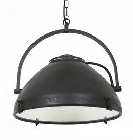 Industriële verlichting Hanglamp Bombay Antiek Mat Zwart