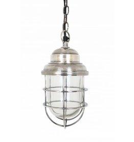 Industriële verlichting Hanglamp Cornwall Antiek Zilver
