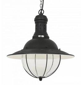 Industriële verlichting Hanglamp Corsair Antiek Mat Zwart