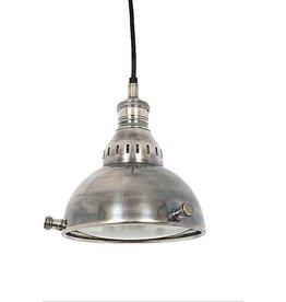Industriële verlichting Hanglamp Elysee Antiek Zilver