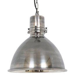 Industriële verlichting Hanglamp Falcon Antiek Zilver