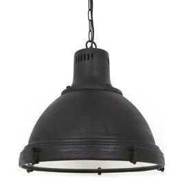 Industriële verlichting Hanglamp Davenport Antiek Mat Zwart