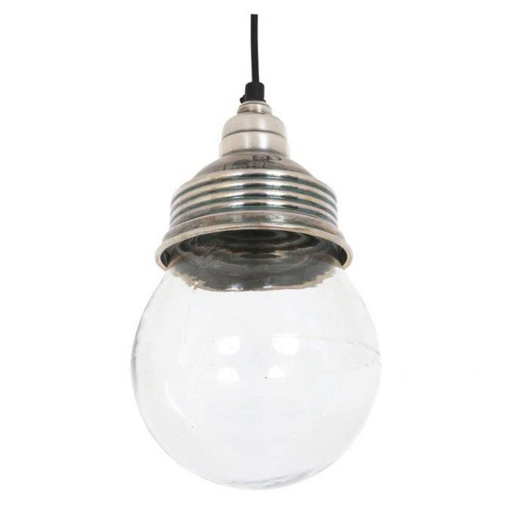 Industriële verlichting IndustriÃ«le hanglamp Vidro Antiek Zilver