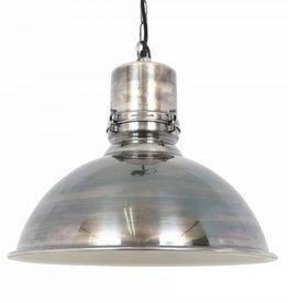 Industriële verlichting Hanglamp Stockport Antiek Zilver