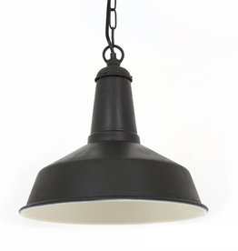 Industriële verlichting Hanglamp Regis Antiek Mat Zwart