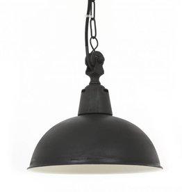Industriële verlichting Hanglamp Lamont Antiek Mat Zwart