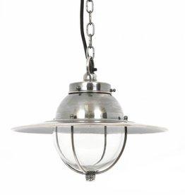 Industriële verlichting Hanglamp Nelson Antiek Zilver