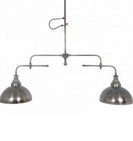 Industriële verlichting Hanglamp Nevada Antiek Zilver