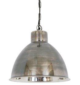 Industriële verlichting Hanglamp Montana Antiek Zilver
