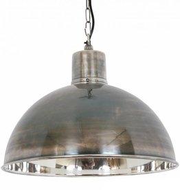 Industriële verlichting Hanglamp Monroe Antiek Zilver