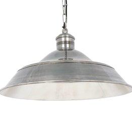 Industriële verlichting Hanglamp Lisbon Antiek Zilver