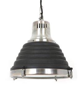 Industriële verlichting Hanglamp Mistral Vintage steel black