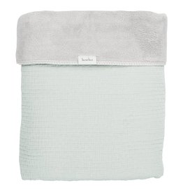 Koeka Home Eenpersoonsdeken / Plaid Elba Mint