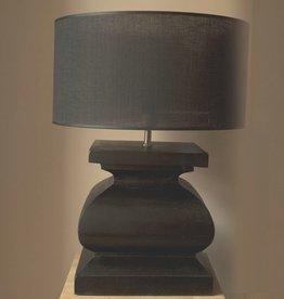 Puur Basic Home selection Lampenvoet met Lampenkap Zwart
