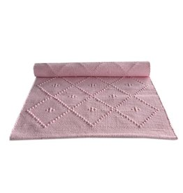 Naco Geweven vloerkleed Roze