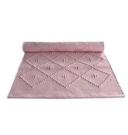 Naco Geweven vloerkleed Roze neon