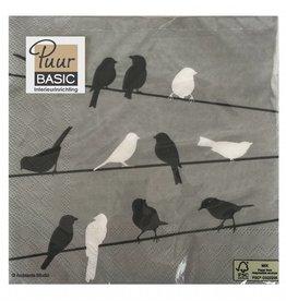 Puur Basic Home selection Servet vogels