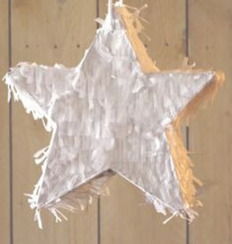 a Little Lovely Company Pinata Star Wit