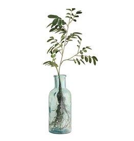 Hk Living Glazen bloem flesvazen