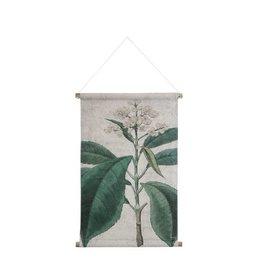 Hk Living HK living Botanisch schoolplaat canvas Botanisch M
