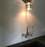 Industriële verlichting Buitenlamp Brooklyn Antiek Zilver