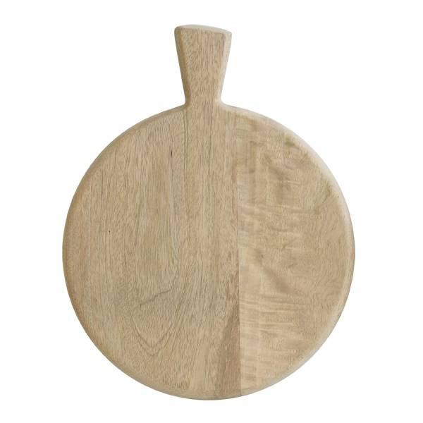 Hk Living HK Living houten broodplank / kaasplank met handvat