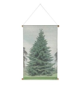 Hk Living HK living Kerst schoolplaat canvas Kerstboom Medium