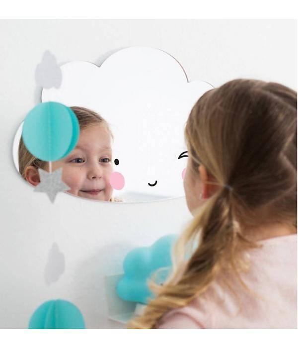 a Little Lovely Company A Little Lovely Company Spiegel - Wolk / Cloud