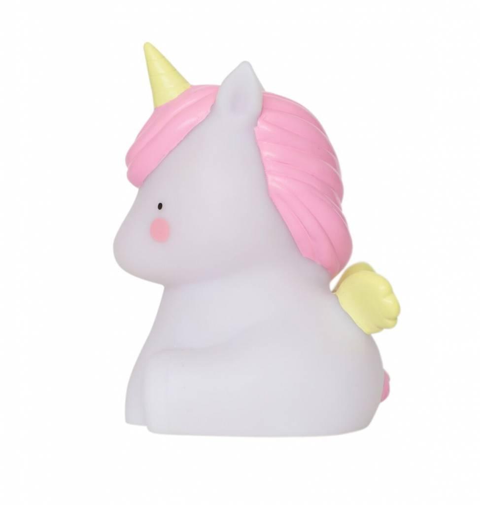 a Little Lovely Company A Little Lovely Company Unicorn - Nachtlampje