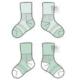 KipKep Blijf-sokken Mint  0-6 maanden of 6-12 maanden