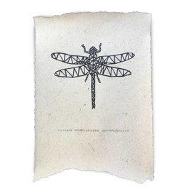 Nadesign Poster olifantenpoep papier Libelle