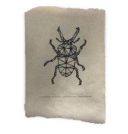 Nadesign Poster olifantenpoep papier Vlieg
