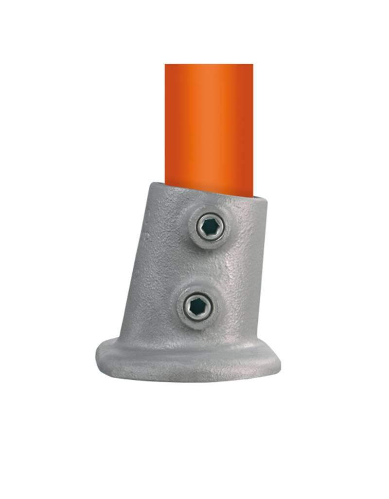 BUISKOPPELING 12 S - Ovale voetplaatvariabele hoek