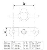 BUISKOPPELING 038 - Dubbel oogdeel in 1 lijn