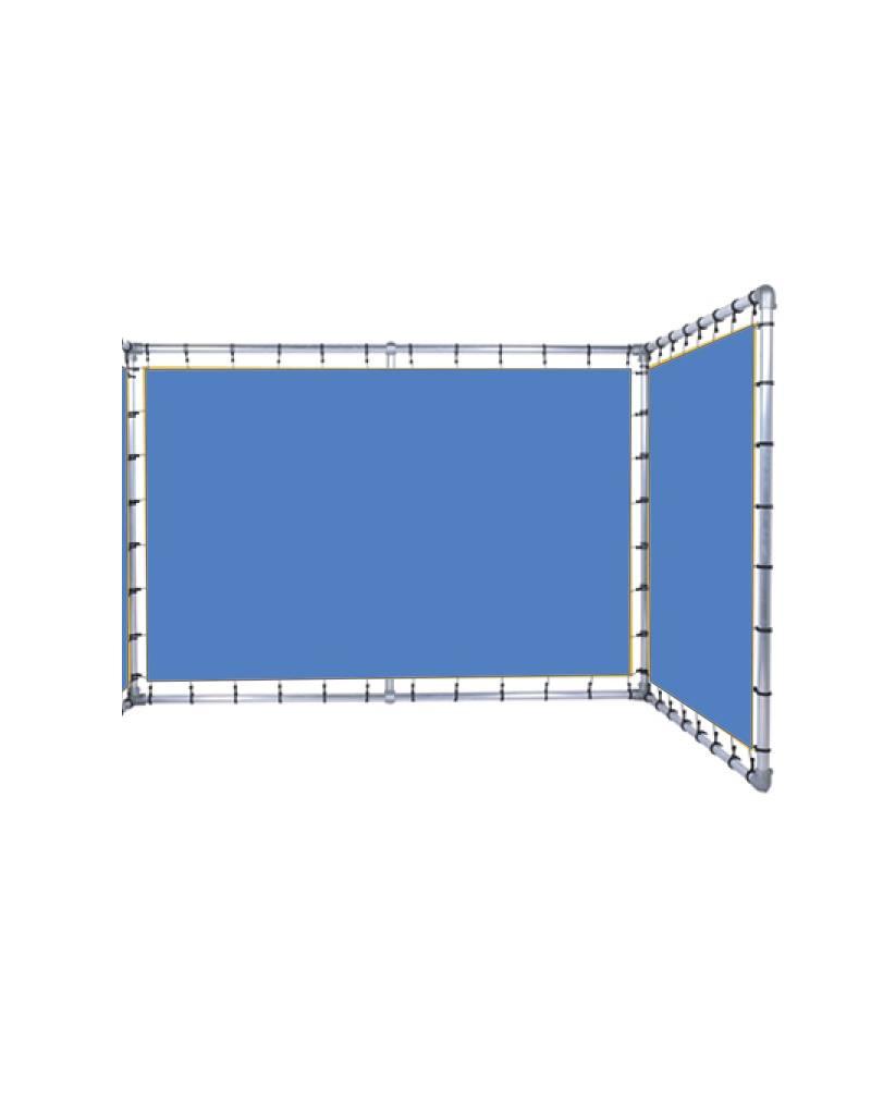 Gebruikt FRAME L-vorm variabele hoek