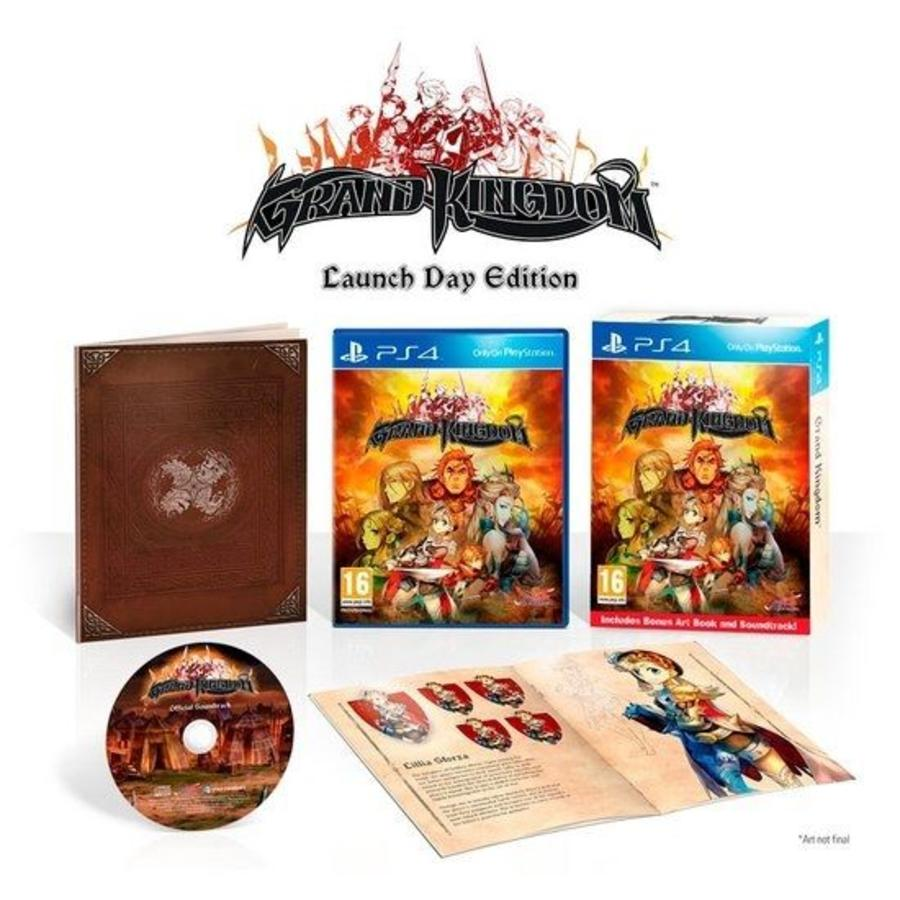 Grand Kingdom Launch Day Edition - Playstation 4