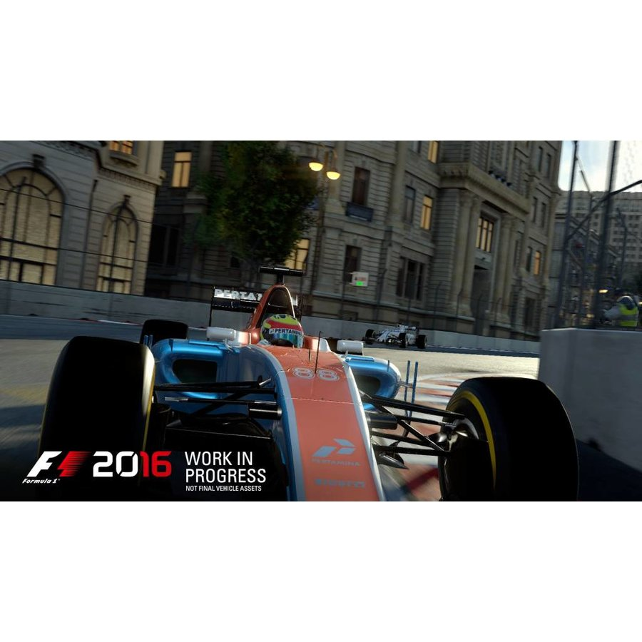 F1 2016 + A2 poster - Xbox One