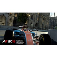 F1 2016 + A2 poster - Playstation 4