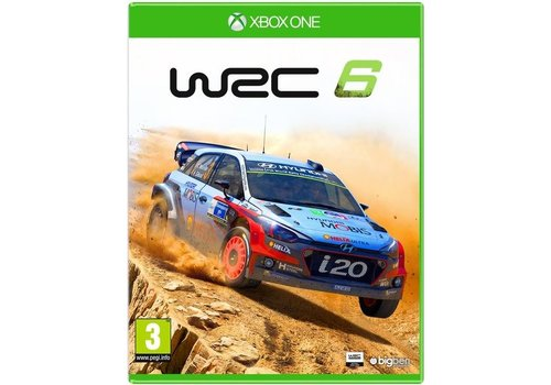 WRC: FIA World Rally Championship 6 - Xbox One