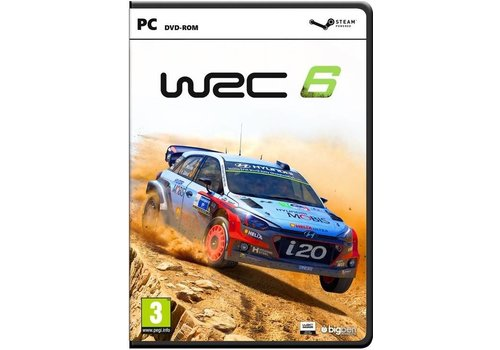 WRC: FIA World Rally Championship 6 - PC