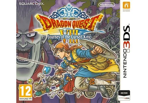 Dragon Quest 8 (VIII): Journey of the Cursed King - Nintendo 3DS