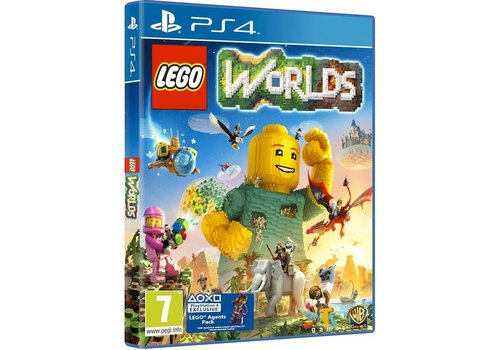 Lego Worlds + DLC - Playstation 4